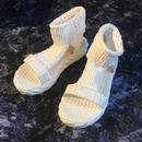 Sports Knit Sandal (white)
