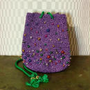 【TICA】Purple Beads Bag