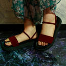 2way Sandal / Bordeaux