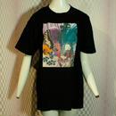 【fan C future】羽根T Shirt / black