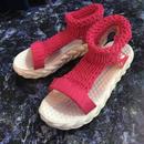 Sports Knit Sandal (pink)