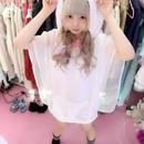 白猫羽衣パーカー/HOMELESS PARTY.×魔法都市東京