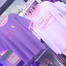 moon刺繍Tシャツ/select