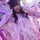 花柄サイドシースルーパーカー/魔法都市東京