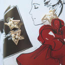 star pierce/gold