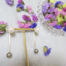 double collar  pearl pierce