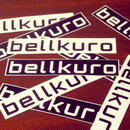 bellkuro ロゴタイプ シール