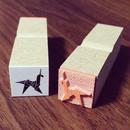 Unicorn Origami ゴムハンコ