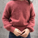 mohair pink sweater