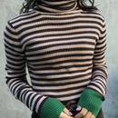 boarder long turtleneck sweater
