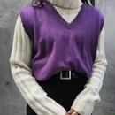【Jpress】purple knit vest