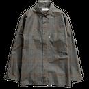 Graphpaper MEN   Glencheck Wool L/S Box Shirt   GRAY