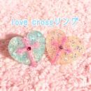 ☆love crossリング