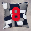 "Patchwork pillow cover ""8"""