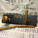 Vtg Brass knob Wall hanger B