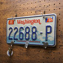 "Number plate ""KEY""holder A"
