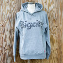 "Bigcity LOGO 12オンス HOOD SWEAT   ""Wide Ruled Notebook""COLOR ( GRAY )"