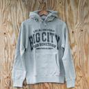 Bigcity College LOGO swate parka 12オンス ヘビィーウェートグレーモデル