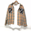 Mismatch NYC/ patchwork  Shirts BROWN
