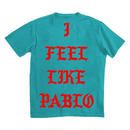 PABLO Tour/I Feel Like PABLO official Tshirt