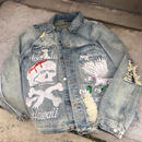 "Reves Paris × Arctic Premium /""REIGN"" denim Jacket"