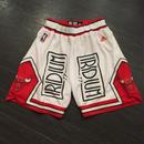 Iridium Clothing/Bulls custom shorts ホワイト