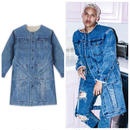 Ceast ± Desist/LONG BOA DENIM JACKET