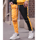 GUAPI/FUSION Track Pants YELLOW×BLACK