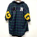Mismatch NYC/G.A.N.G  half sleeve shirts  グリーン