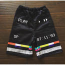3hunna Hollywood /VHS Shorts Black
