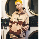 WOSS.official/Camo hoodie ブラウン