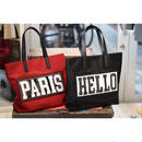 TAAKK : HELLO→PARIS TOTEBAG