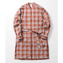 Name. : PLAID COTTON ZIP COAT