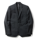 Name. : WOOL MOHAIR TROPICAL TAILORED JACKET