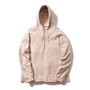 Name. : HALF ZIP HOODED SWEATER