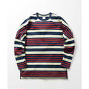 Name. : MULTI STRIPE OVERSIZED LONG SLEEVE TEE