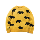 Name. : ANIMAL PATTERNED NECK SWEATER
