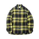 Name. : WOOL / RAYON PLAID SHIRT