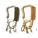 hobo : Brass Carabiner with Cow Leather