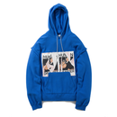 Name. : FRONT PATCHED PULL OVER HOODIE