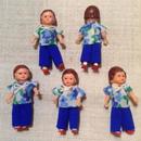 ARI花柄シャツの子mini873