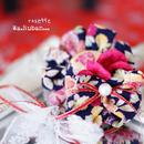 Wa.Ruban rosette風お飾り(単品) No.1