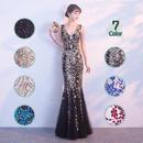 ロングドレス パーティードレス 結婚式 二次会 ワンピース 結婚式ドレス お呼ばれワンピース 20代 30代 40代 黒 ブルー 赤 花柄