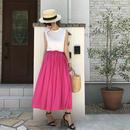 【送料無料】柔らかピンクスカート