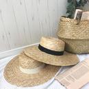 3/27入荷サイズ調節可能つば広カンカン帽