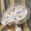 花の妖精ドレスハット   ブルーグレー系
