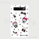 【MB013】モバイルバッテリー:アイテム 白×BLINGCOCO