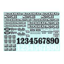 BLOCKHEAD MOTORS オリジナルデカールシート Ver.1 / Original decal sheet Ver.1