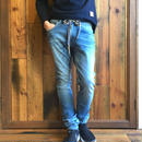 404XXE BONE  JERSEY DENIM PANTS / BS-S2-RDP02