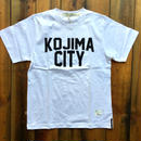 KOJIMA CITY PRINT T-SHIRT 【WHITE】/ BS-CS1-01